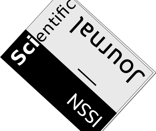 Icon of scientific journal