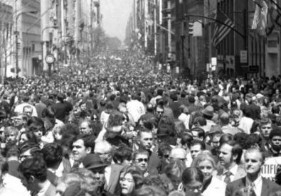NYC, 5th Avenue - 1st Earth Day 22.04.1970
