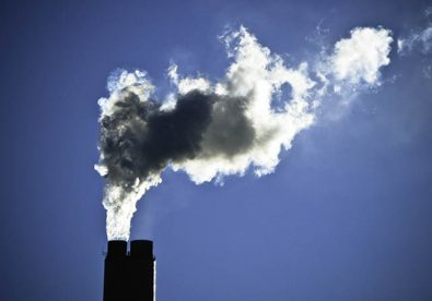 Smokestacks at a power plant in Arizona. The power sector has the most potential to cut carbon (Flickr Nick Humphries)